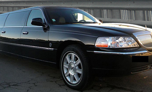 Black 10 Seater Stretch Limousine in Austin